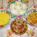 Яйца фаршированные селёдкой