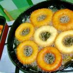 Вкусные сладкие колечки