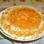 Рыбный торт или салат.
